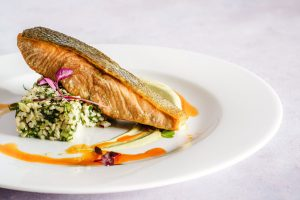 Masakan Ikan Salmon
