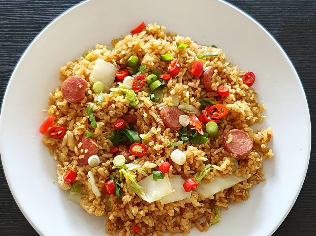 Resep Nasi Goreng Sosis
