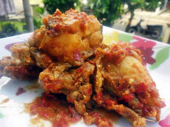 Resep Ayam Seraki Pedas (Banten)