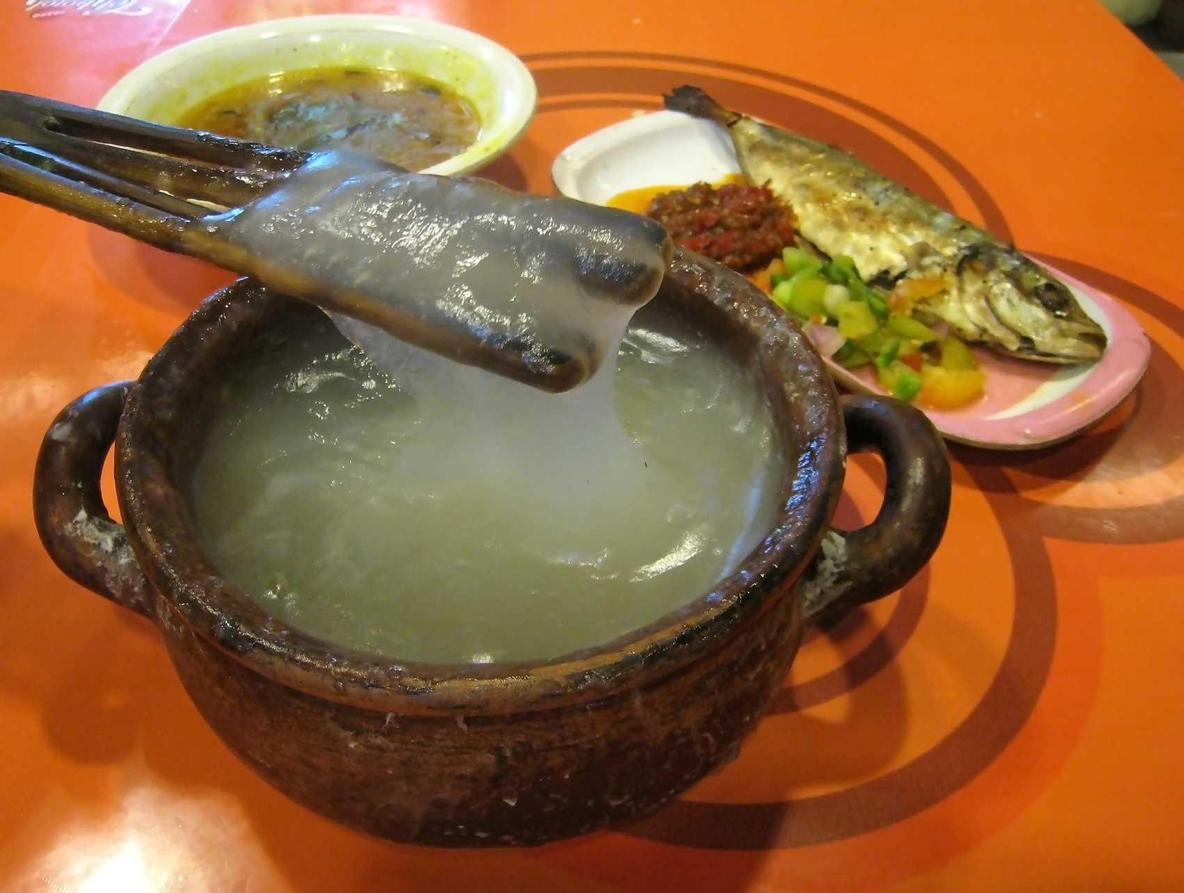 Resep Bubur Pisang Ikan Kenari Khas Ambon