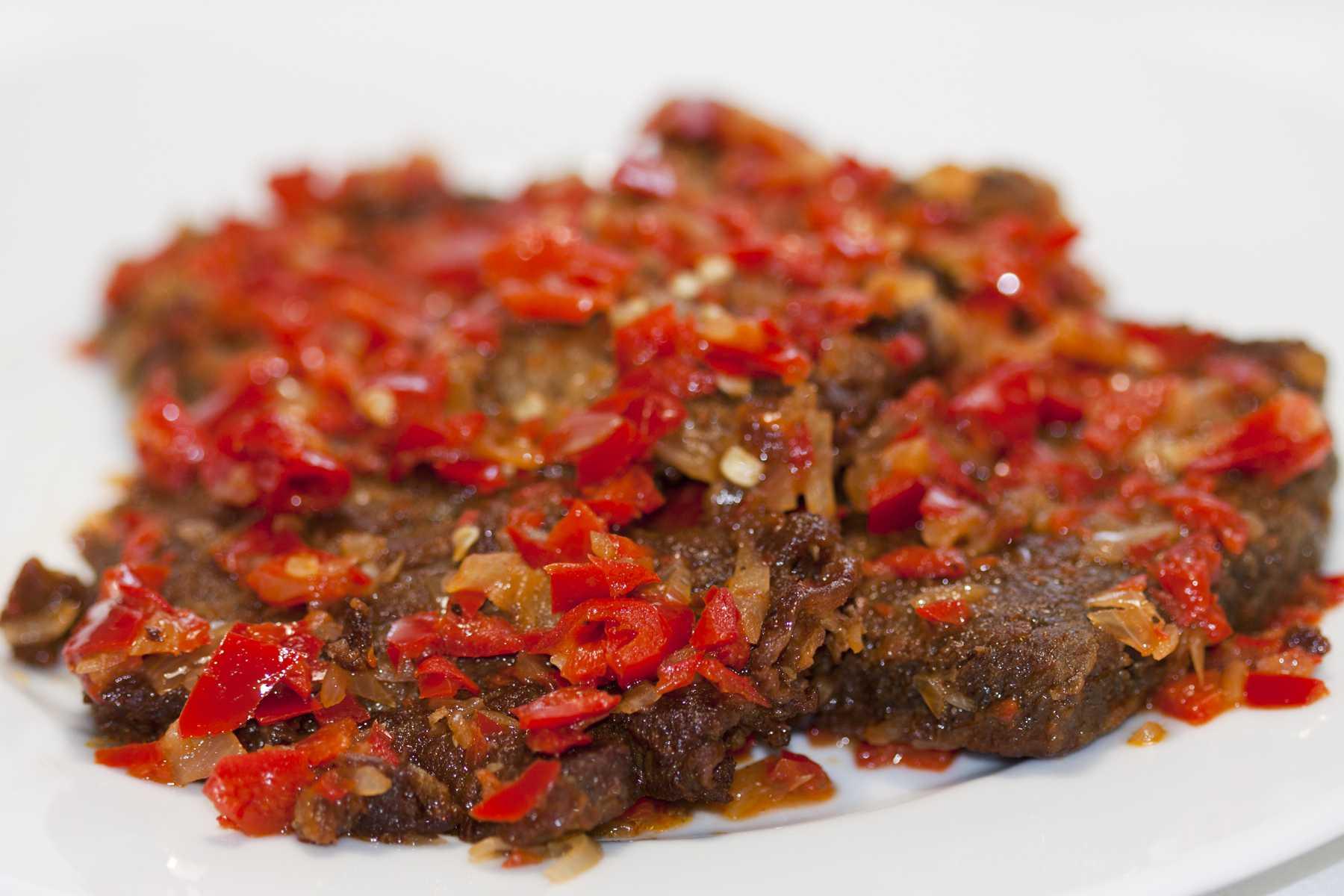 Resep Dendeng Batokok Khas Padang, Delicious