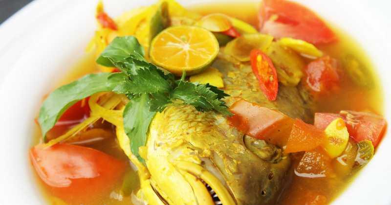 Resep Ikan Kuah Kuning Lezat Khas Maluku
