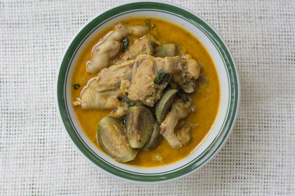 Resep Kari Terung Ayam Khas Palembang