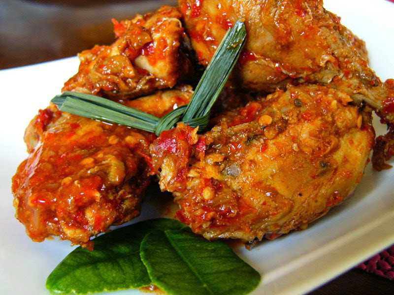 Resep Masakan Ayam Rica-Rica Khas Manado