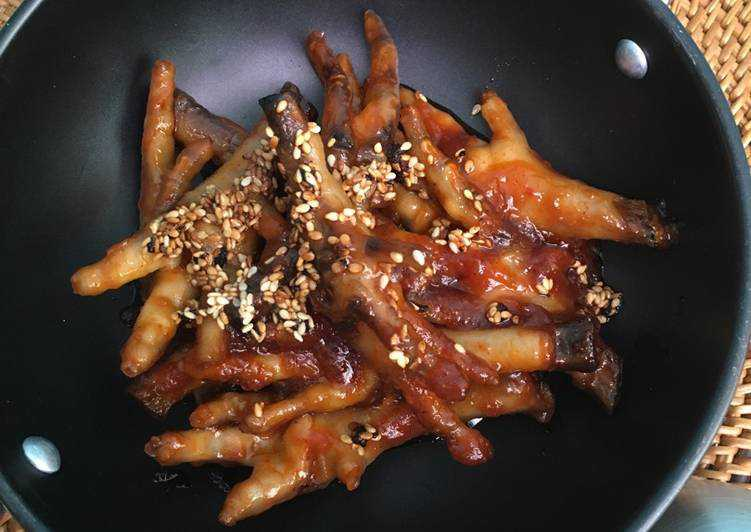 Resep Masakan Ceker Ayam Asam Manis Khas Jawa Tengah