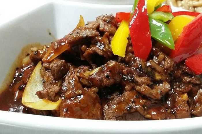 Resep Masakan Sapi Lada Hitam Yang Lezat dan Empuk