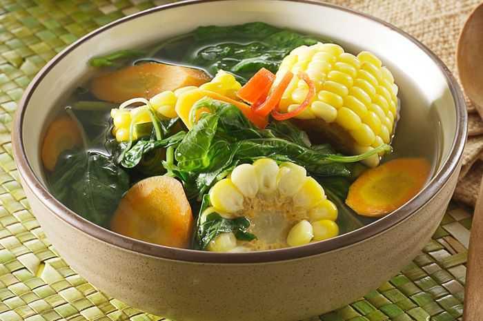 Resep Menu Masakan Sehari-hari Sayur Bayam Bening Sederhana