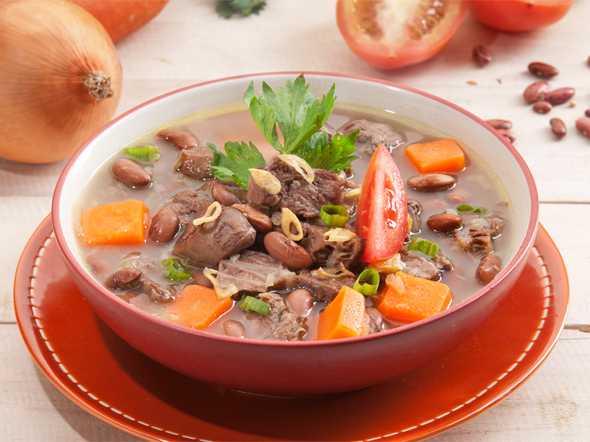 Resep Sup Kacang Merah Brenebon Khas Manado