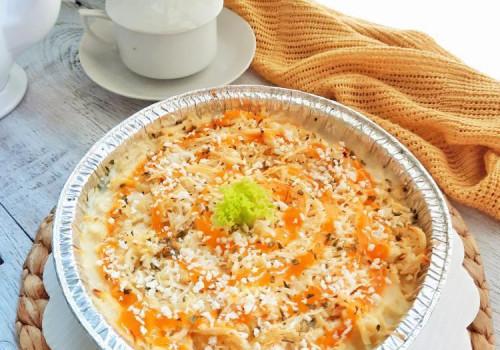 Resep Cauliflower Gratin with Cheese Sauce