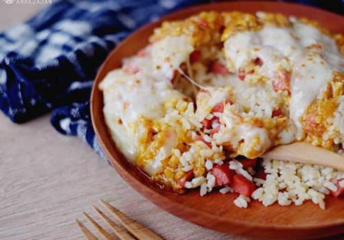 Nasi Panggang Tom Yum Sehat Untuk Anak