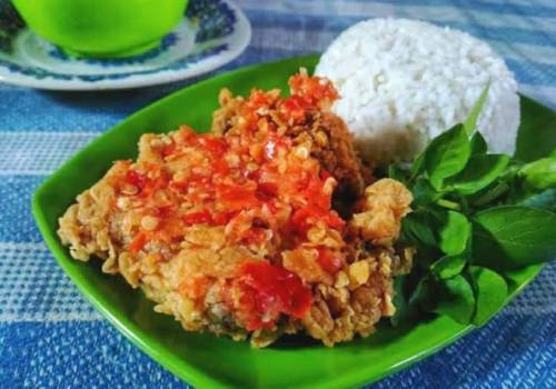 Resep Ayam Geprek Sambal Bawang