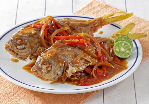 Resep Ikan Goreng Saus Tiram