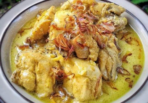 Resep Lontong Opor Ayam