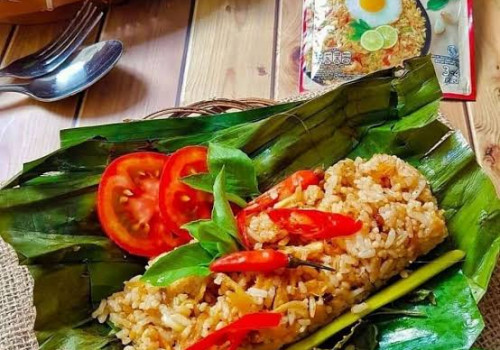 Resep Nasi Goreng Bakar Soto