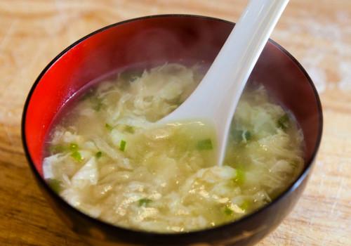 Resep Sup Telur & Makaroni