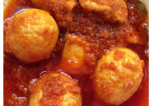 Resep Tahu & Telur Balado