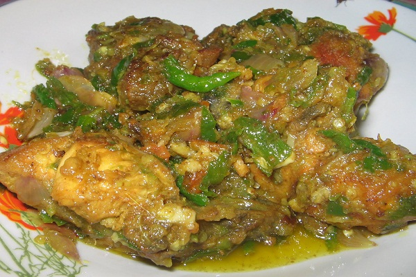 Resep Masakan Ayam Cabe Hijau Khas Manado