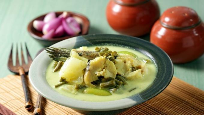 Resep Masakan Gangan Asam Kering khas Kalimantan Barat