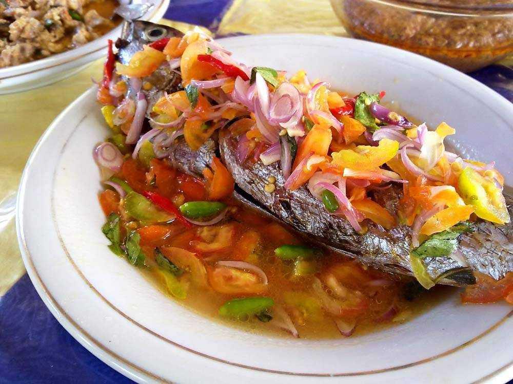 Resep Masakan Ikan Bakar Colo Dabu-Dabu (Sulawesi Utara)