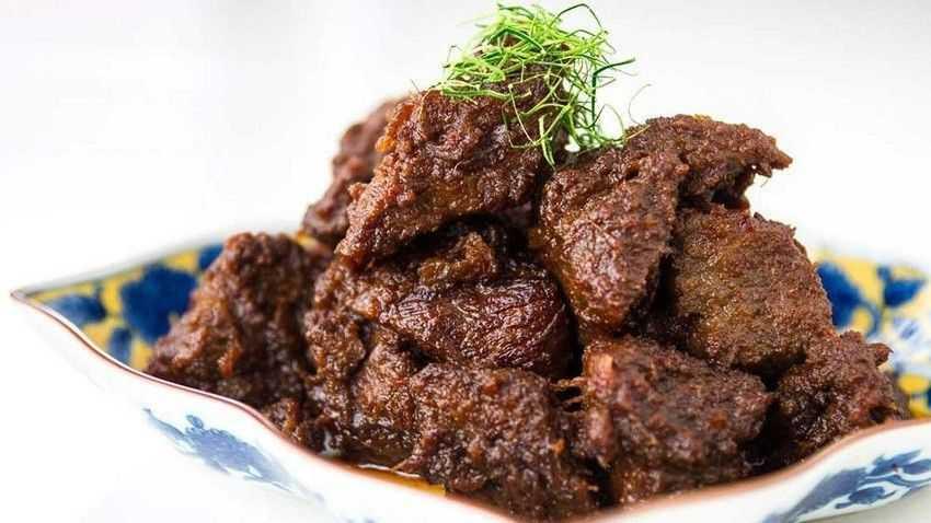 Resep Rendang Daging Khas Padang, Lamak bana